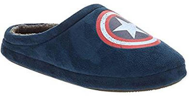 Marvel Comics Captain America Slippers