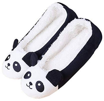 LA PLAGE Women's Panda Animal Home Slippers