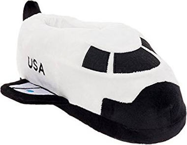 Space Shuttle Slippers for Spaceship Lovers