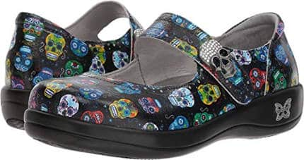 Sugar Skulls Slip On Shoe