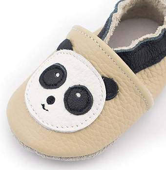 CoCoCute Panda Moccasin for Babies and Toddlers