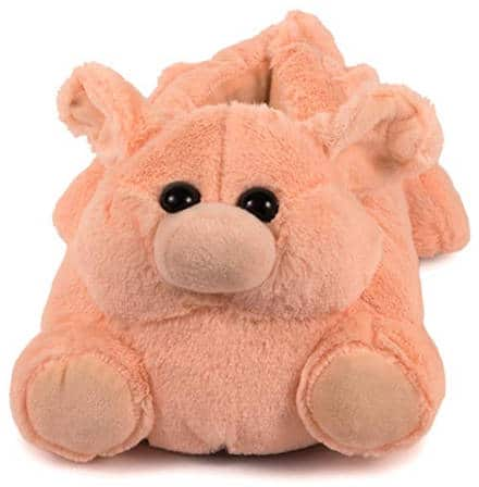 Cute stuffed animal slippers for adults and kids