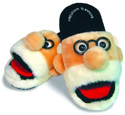 Freudian Slippers for psychotherapists, psychologists, psychoanalysts, Psychology teachers and psychology college students.