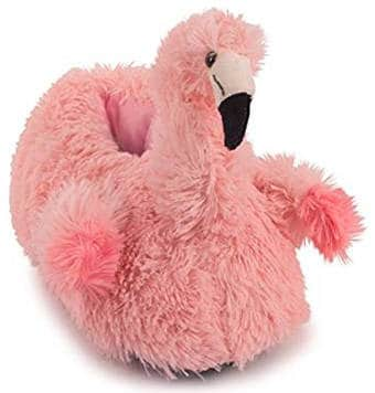 Lazy Paws Adult Sized Flamingo Slippers