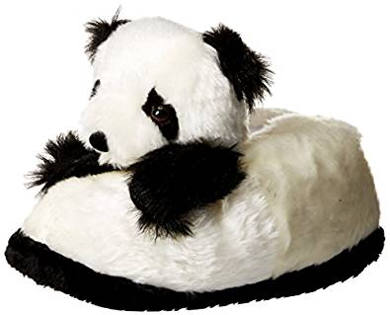 838e11a7a32e6 17 Cute Panda Slippers for Adults