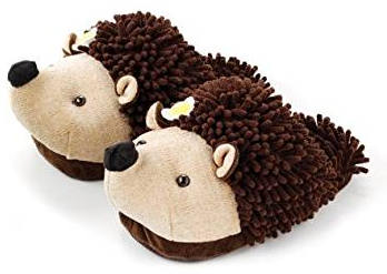 Aroma Home Hedgehog Womens Slippers