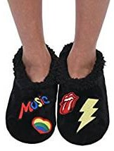 Pop culture music slippers