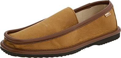 L.B Evans men's deerskin slipper
