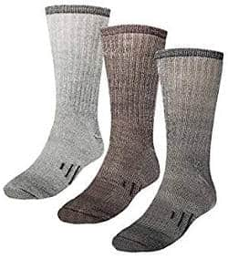 Thermal Hiking Crew Socks for Adults and Kids