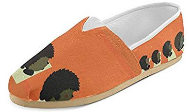 InterestPrint Women's Hedgehog Loafers Flats