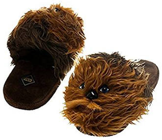 Star Wars Chewbacca Men's Plush Slippers