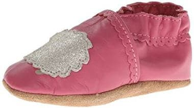 Pink hedgehog shoes for infant girls and infant toddlers