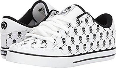 C1RCA skull themed skate shoe C1RCA skull themed skate shoe