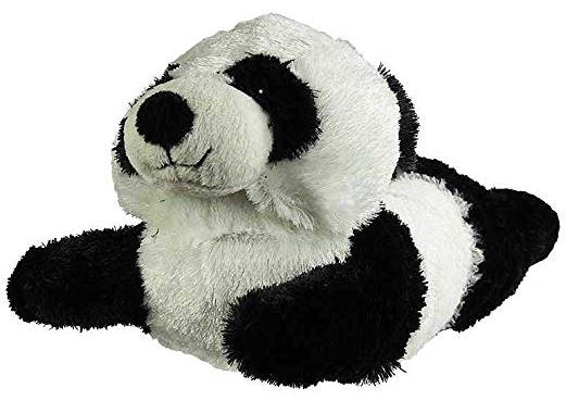 Wishpets Black and White Panda Slippers