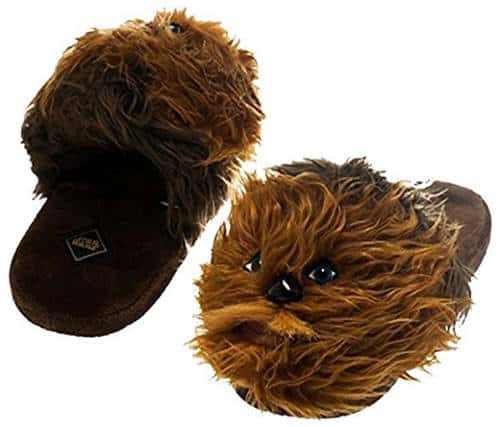 Bioworld Star Wars Chewbacca Plush Slippers