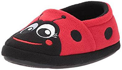 Pull-on Ladybug Boot Slipper