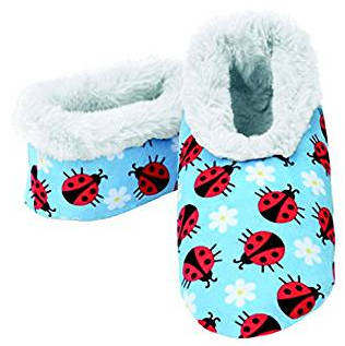 Snoozies Women´s Ladybug Slipper Socks