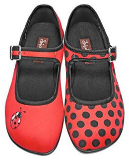 Cute ladybug shoes for women
