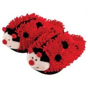 Super Cute Ladybug Slippers For Women And Toddlers Review
