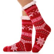 8 Super Cute Snowflake Slipper Socks For Women And Men