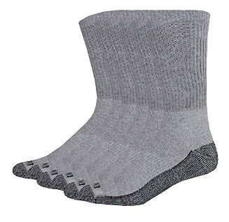 Dickies Cushioned Moisture ControlCrew Work Socks For Men