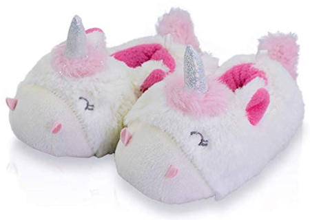 Soft Unicorn Non-Skid House Slippers
