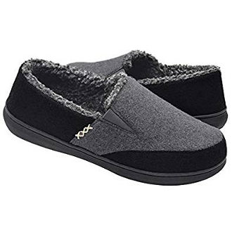 Zigzagger Men's Wool Micro Suede Moccasin Slippers Review