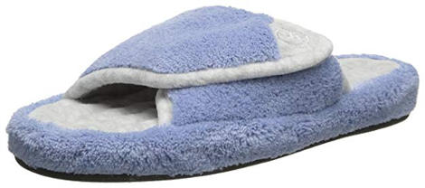 Women´s terry cloth adjustable slippers
