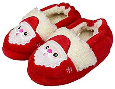 Santa slippers for toddlers