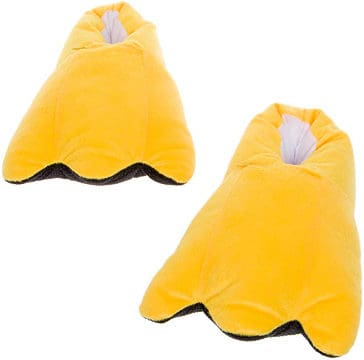 LED Light Up Duck Feet Slippers by Silver Lilly