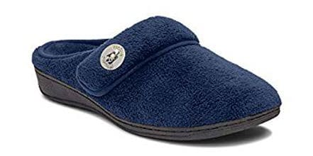 Vionic Women's Indulge Sadie Mule Slipper WithConcealed Orthotic Support