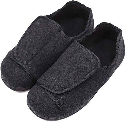 Extra wide swollen feet slippers