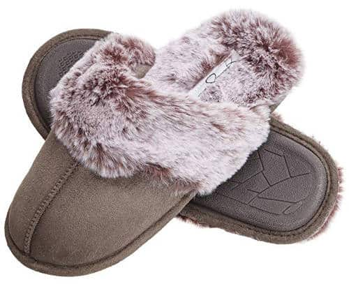 Comfy slippers for mom