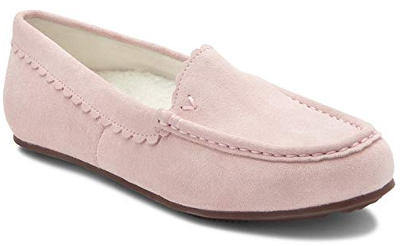 Elegant moccasin slippers