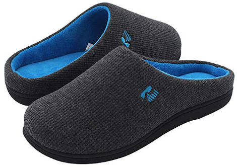 Memory foam slippers for men