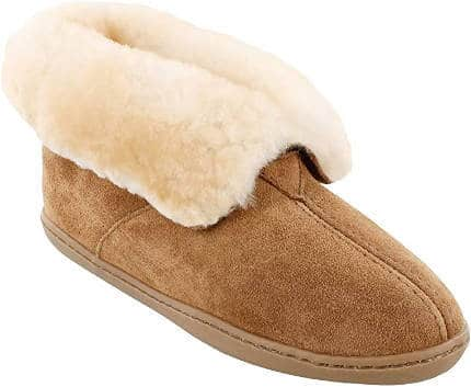 Minnetonka Women's Sheepskin Slipper Boots