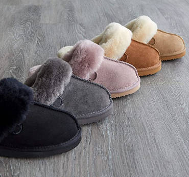 Best shearling slippers