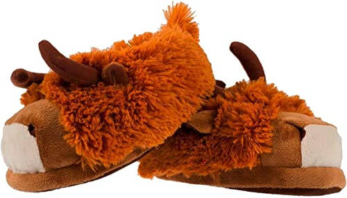 Highland Cow Slippers For Men